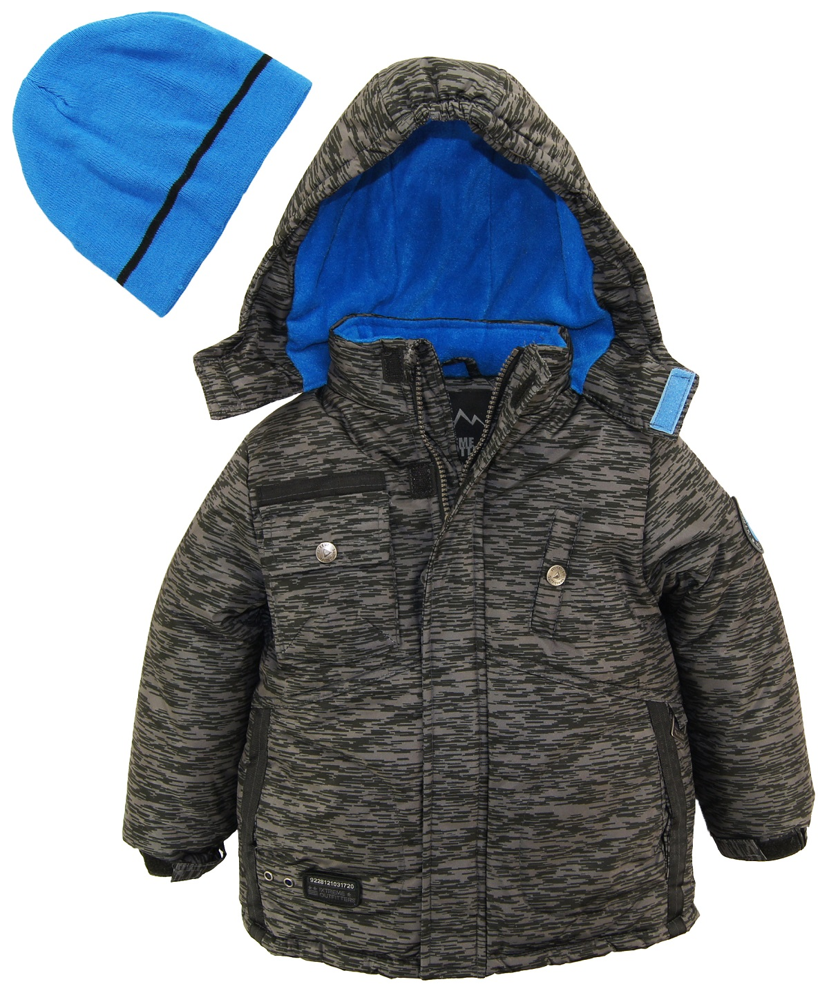 076156fd6 ixtreme - ixtreme toddler boys colorblock heavy snowsuit winter ski ...