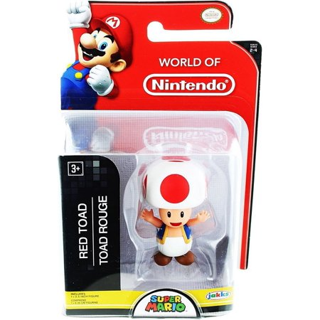 World of Nintendo Super Mario Toad Mini Figure