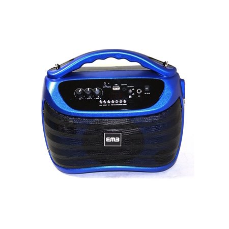 EMB PKX5BT 300W Portable BLUETOOTH Rechargeable Boom Box Speaker -