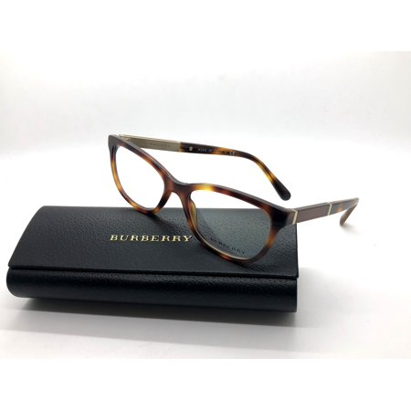 BURBERRY B 2232 3316 Eyeglasses Optical Frames Glasses Light Tortoise ~ (Burberry Glass Frames)