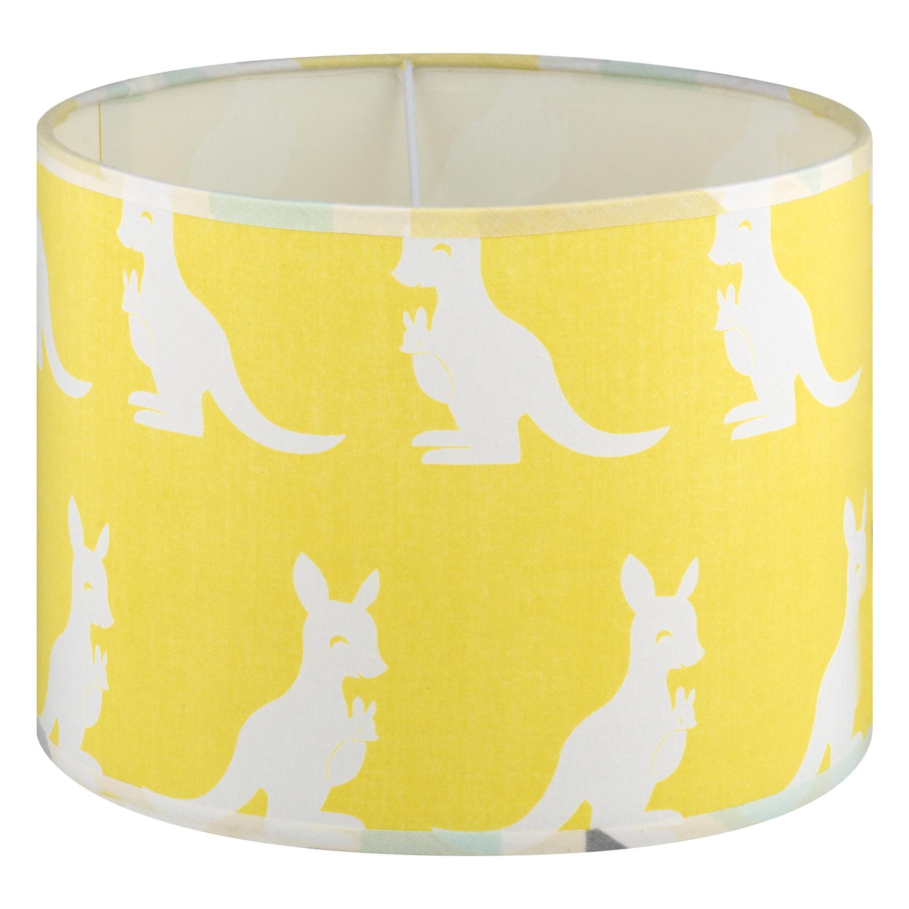 Pam Grace Lamp Shade Honeydew Kangaroo, Gold, 1.0 CT