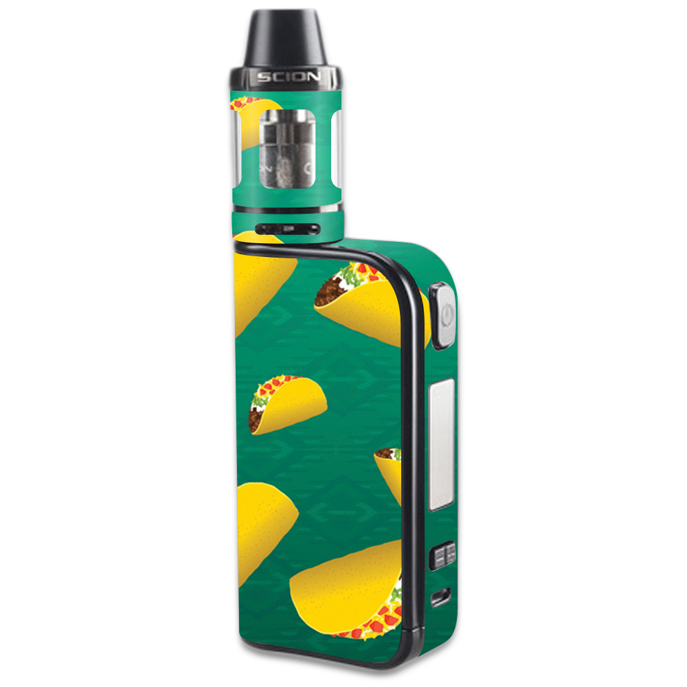 Skin Decal Wrap for Innokin CoolFire Ultra Scion sticker Tacos