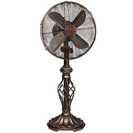 Oscillating Table Fan For Your Desk Kitchen Office Bedroom 12 Inch Head 3 Sds With Tilting Cooling Room Fast Small