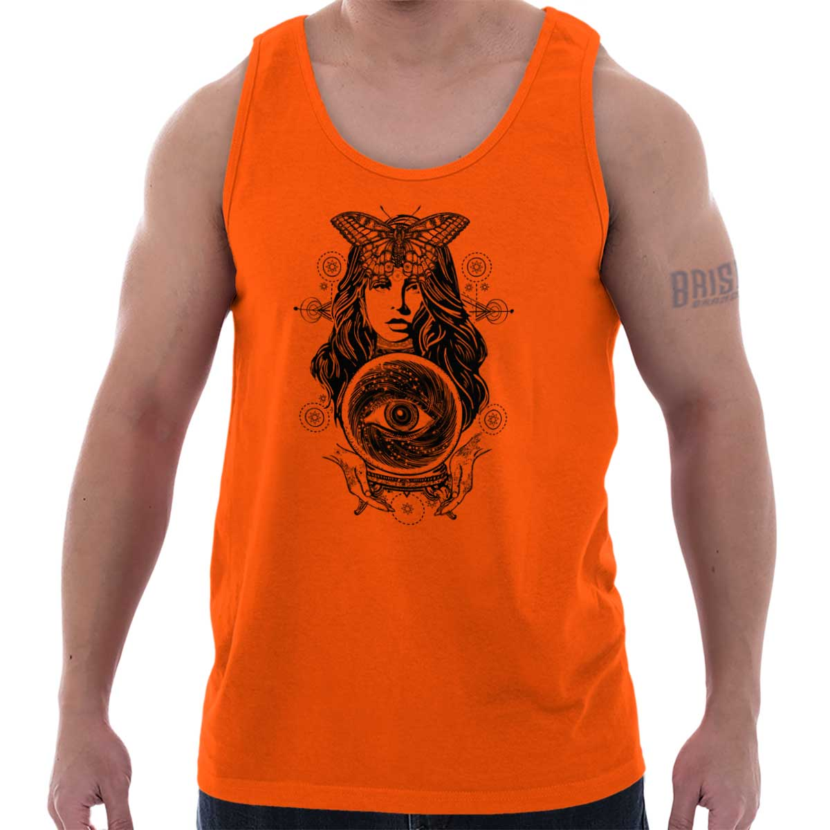 Details about  /Summer Geometric Mens Grey Sleeveless Tee Trendy Lettering Tanks