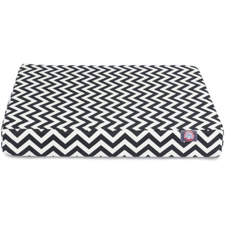 Chevron Medium Orthopedic Memory Foam Rectangle Dog Bed