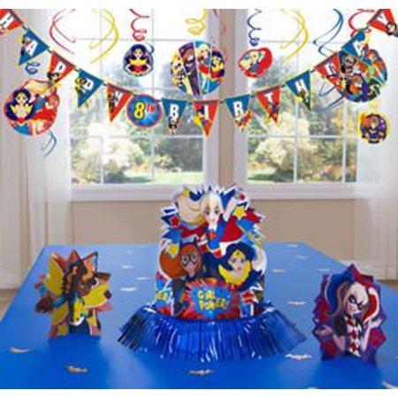 DC Superhero Girls Decoration Kit (36 Piece) Super Hero Birthday Party SuppliesDC Superhero Girls Decoration Kit (36 Piece) By ONE - Superhero Decoration Ideas