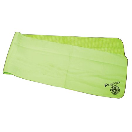 Chilly Sport Cooling Neck Wrap & Head Band Frogg Toggs - HiVis Green