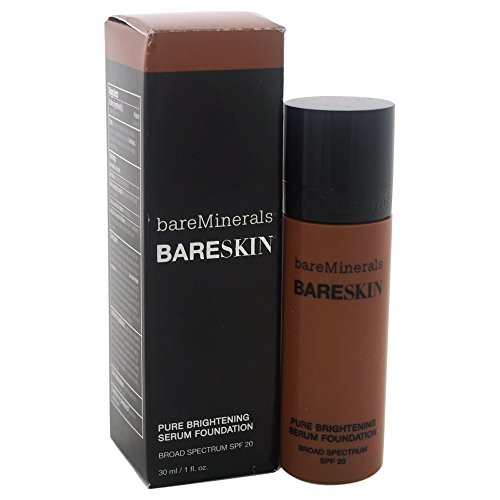 BareSkin Pure Brightening Serum Foundation SPF 20 All Skin Types -20 Bare Mocha by bareMinerals for - image 1 de 1