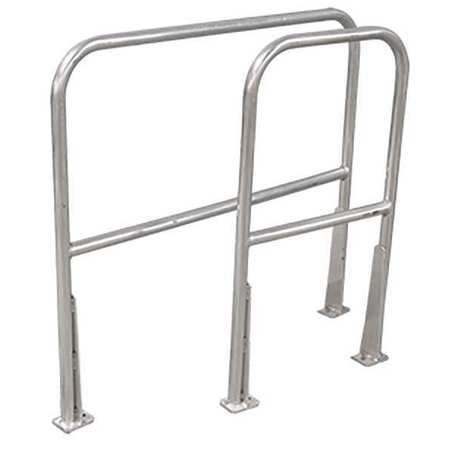 COTTERMAN AR2 C50 P6 Safety Railing,2ft.,Aluminum G1002331