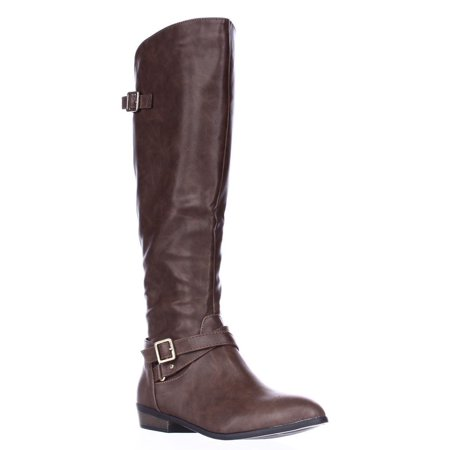 Womens Capri Riding Boots, Cognac