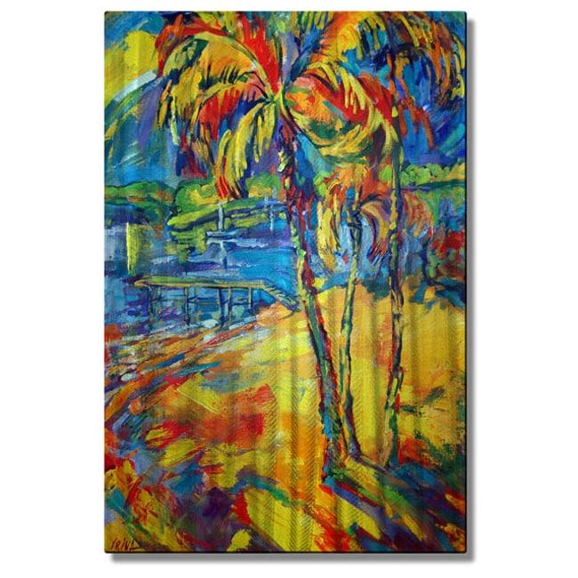 All My Walls Irina Ashcroft Tropical Splash Metal Wall Art Walmart Com Walmart Com