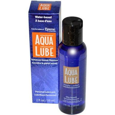 Aqua Lube Original Water Based Personal Lubricant - 2 oz