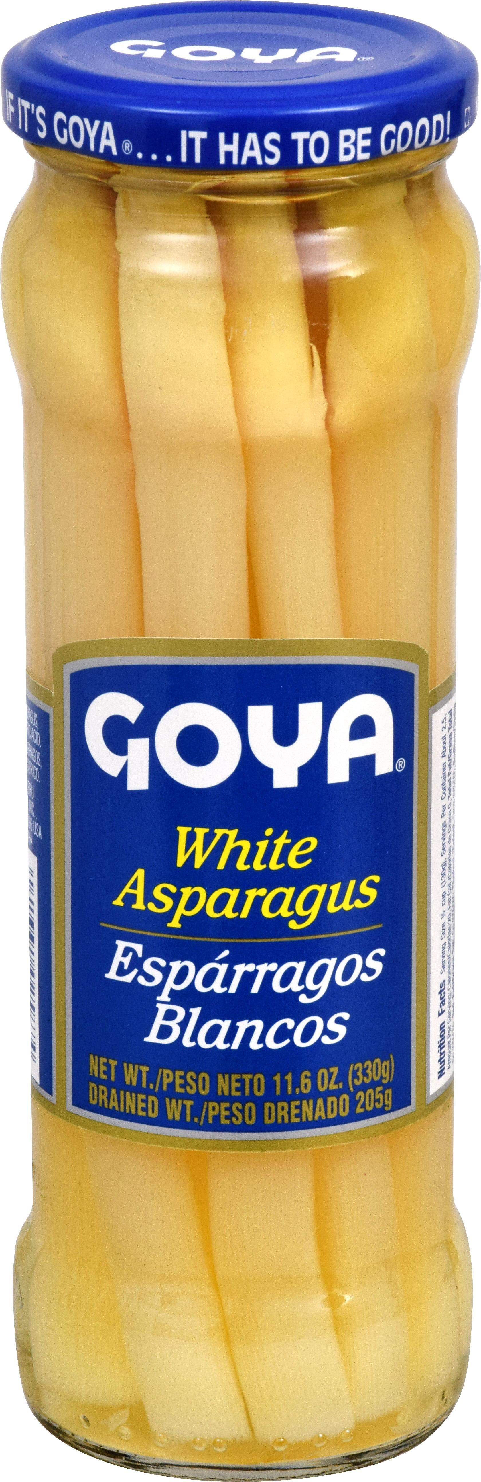 (6 Pack) Goya White Asparagus, 11.6 oz