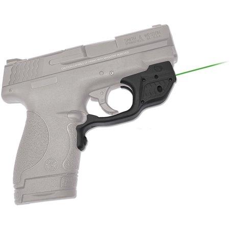 (Crimson Trace Corporation Green Lasergaurd, Fits S&W Shield, User Installed, Black Finish)