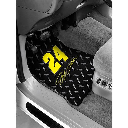 Nascar #24 Jeff Gordon Front Floor Mat