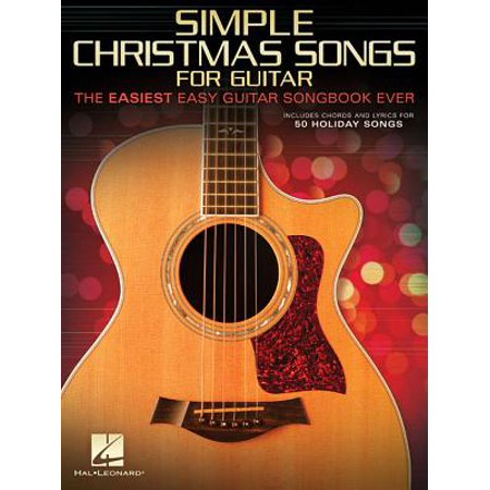 Simple Christmas Songs : The Easiest Easy Guitar Songbook Ever](Halloween Songs To Play On Guitar)