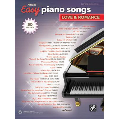 Easy Halloween Songs On Piano (Alfred's Easy Piano Songs -- Love & Romance : 50)