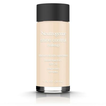 Neutrogena Shine Control Liquid Makeup Broad Spectrum Spf 20, Classic Ivory 10, 1 Oz.