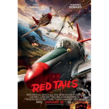 Red Tails Movie 11inx17in (28cmx43cm) Mini Poster in Mail/storage/gift tube