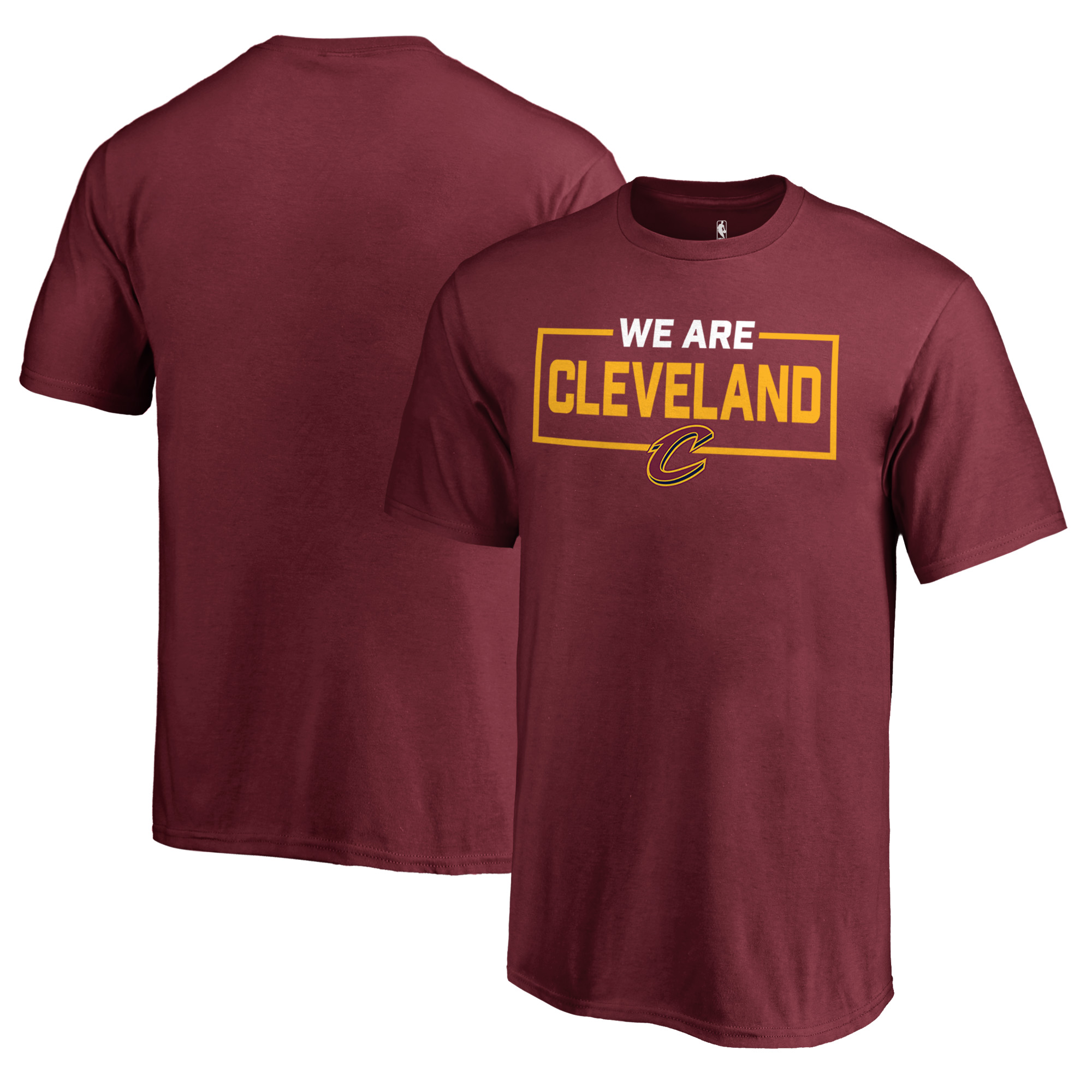 Cleveland Cavaliers Fanatics Branded Youth We Are Iconic Collection T-Shirt - Wine