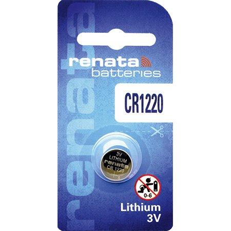 10 x Renata 1220, Piles au lithium 3V CR1220 - image 1 de 2