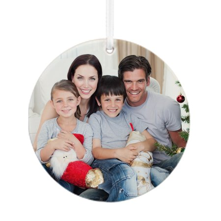 Personalized Picture a Perfect Christmas Ornament, Color