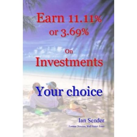 Earn 11 11  Or 3 69  On Investments  Your Choice