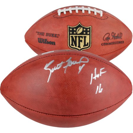 Brett Favre Green Bay Packers Autographed Duke Pro Football with