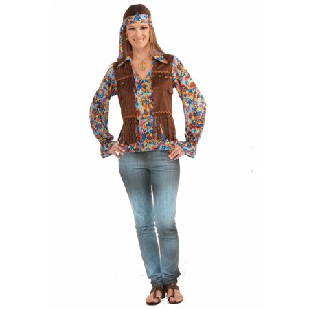Hippie Jewelry And Headband Halloween Costume Kit