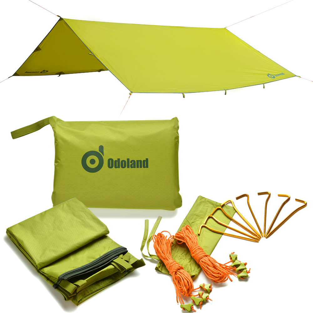 9.8ftx9.8ft Camping Canopy Instant Tent Shelter Waterproof Sunshade Tarp by