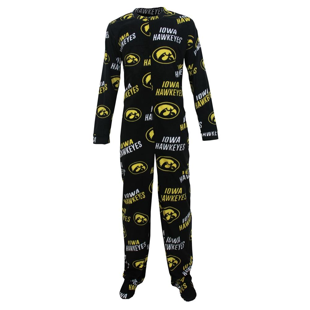 Concept Sports University of Iowa Hawkeyes Union Suit Foo...