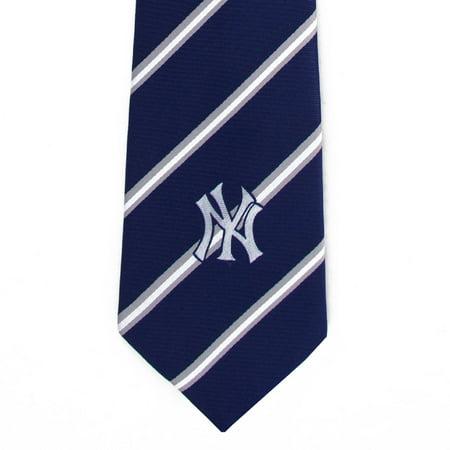 Mlb Necktie - New York Yankees Stripe Tie