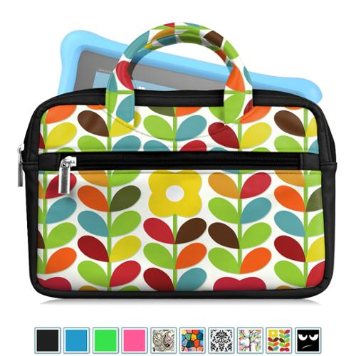 Fintie Universal 6 - 8 Inch Tablet Sleeve Travel Carrying Case Bag for Fire HD 6 /HD 7/HD 8/HDX 7/Fire 7, Child's Garden