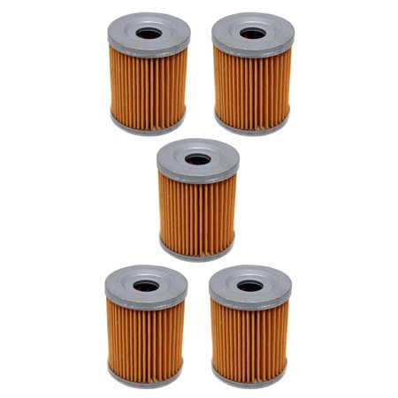 Factory Spec, FS-701, Suzuki Quadrunner 160, 230 & 250, Arctic Cat Utility  250 & 300 Oil Filter 5 Pack