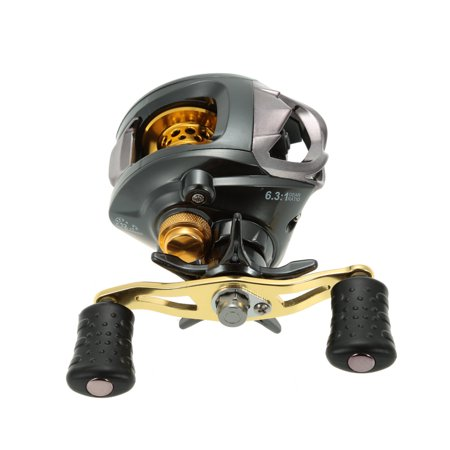 12+1 Ball Bearings Fishing Reel 6.3:1 Gear Ratio Bait Casting Reel Right/Left Handed Fishing Reel Magnetic Braking System High Speed Fish Reel thumbnail