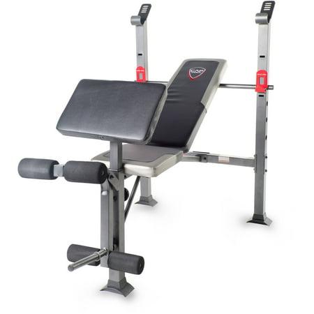 Cap Strength Standard Bench With Full Leg Developer And