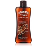 Hawaiian Tropic Dark Tanning Oil Original 8 oz No SPF