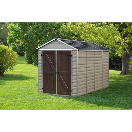 Palram  Skylight Tan 6ft. x 10ft. Shed