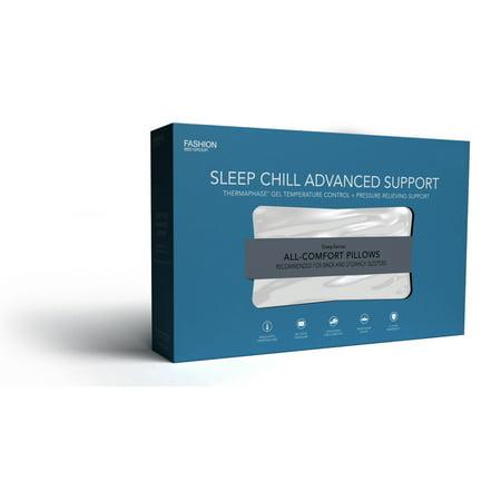 Sleep Chill Phase Change Gel Memory Foam Pillow, King / California King