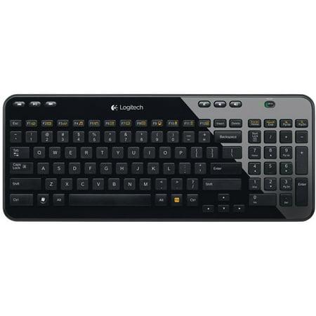 BlackWeb Wireless SIlent Keyboard with USB Nano Receiver