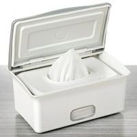 Wet Tissue Paper Case Baby Wipes Napkin Storage Box Holder Container Plastic USA