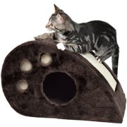 Trixie Pet Products Topi Cat Condo, Chocolate Brown