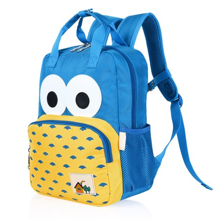 Vbiger Kids Backpack Cute Preschool Backpack Children School Bag for Kindergarten Student and Pupil, Cartoon Pattern Design, Lightweight and Wear-proof, Blue - Halloween Patterns For Kindergarten