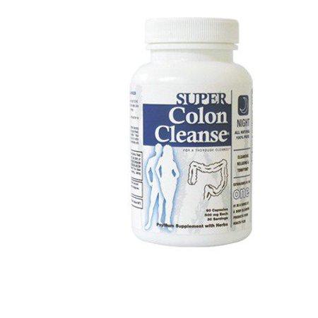 Super Colon Cleanse-nuit Health Plus 90 Caps