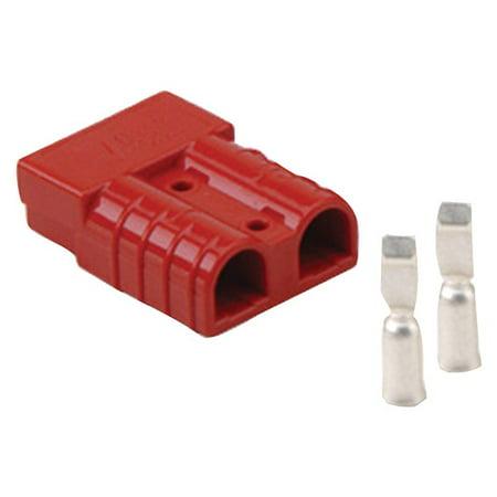 INSTALL BAY SB50 Anderson Connector (Red, 8 Gauge) (Sb50 Connector)