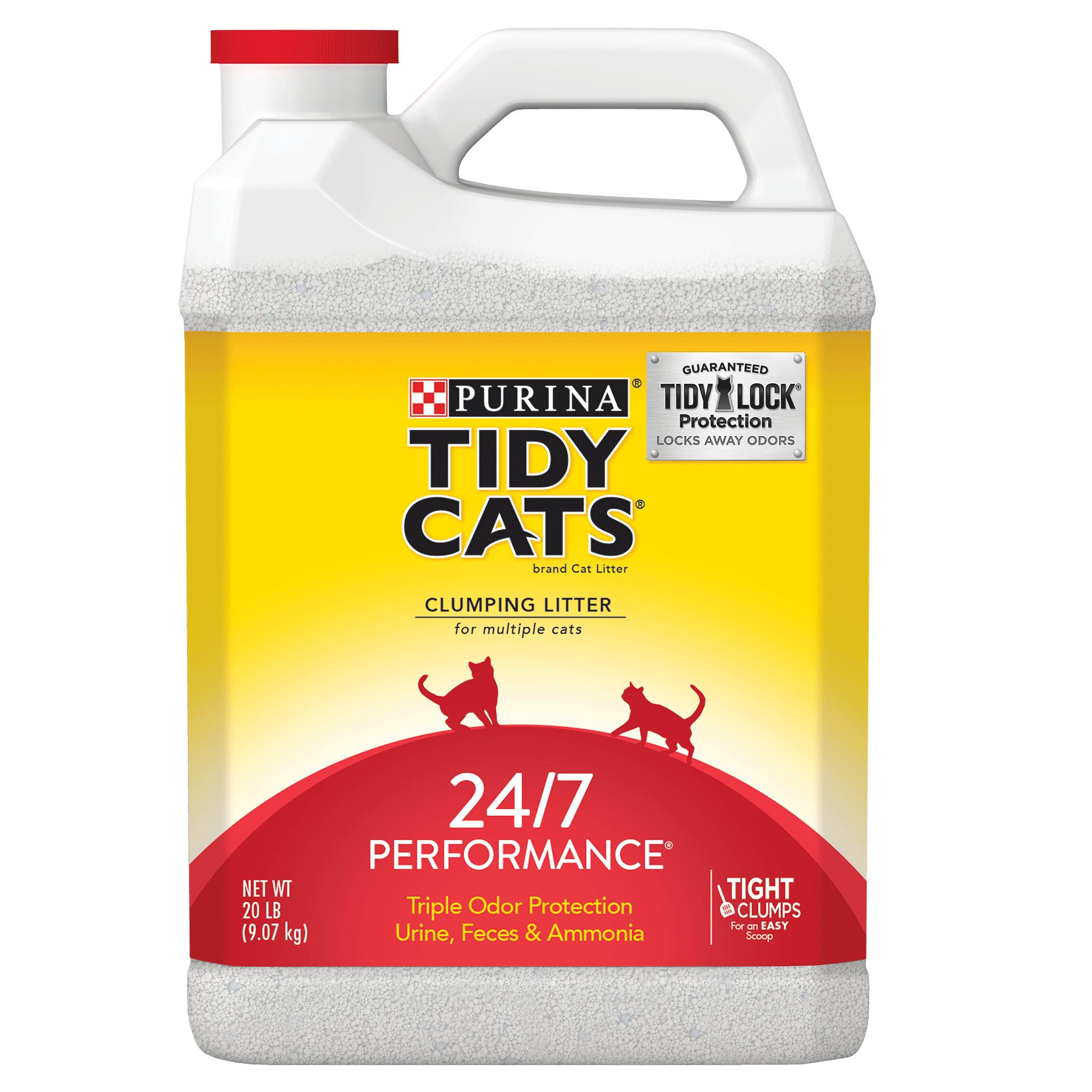 Purina Tidy Cats 24/7 Performance Clumping Cat Litter, 20-lb Jug