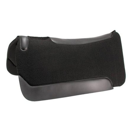 Performers 1st Choice Black Felt/Neoprene Western Pad