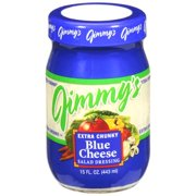 Jimmy's Extra Chunky Blue Cheese Salad Dressing, 15 fl oz