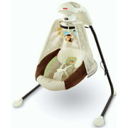 Fisher-Price - Starlight Papasan Cradle Swing, Nite Nite Monkey