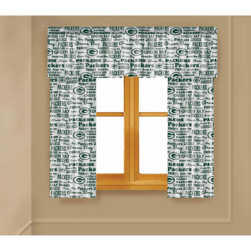 NFL Green Bay Packers Window Curtain Panels